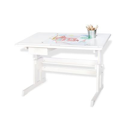 Pinolino Lena barneskrivebord, hvitlakkert
