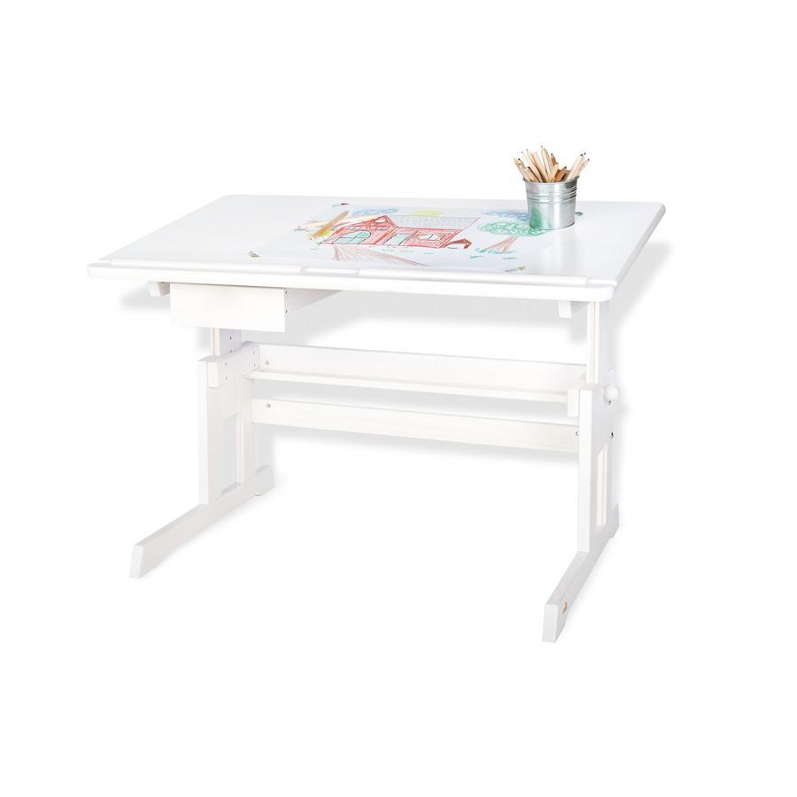 Pinolino Lena lasten kirjoituspöytä, valkoinen