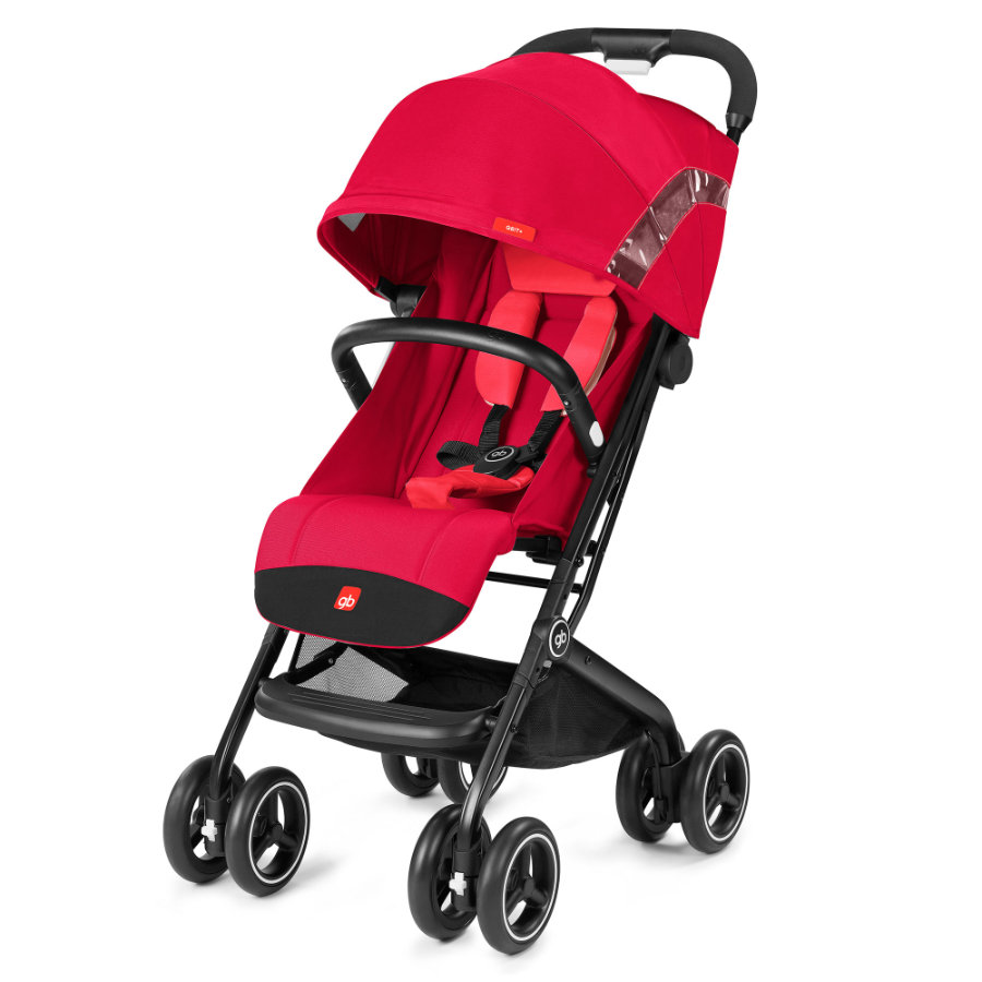 gb GOLD Buggy Qbit Plus Cherry Red-red