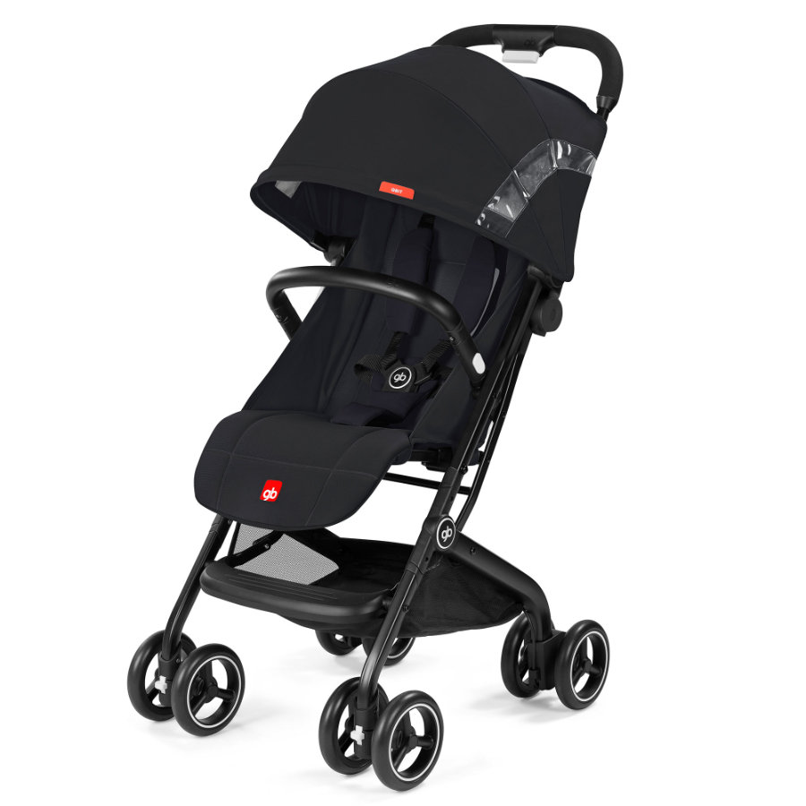 gb GOLD Buggy Qbit Satin Black-black