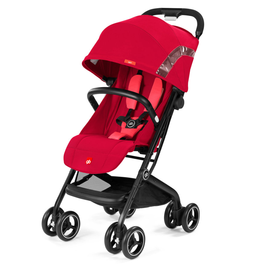 gb GOLD Buggy Qbit Cherry Red-red