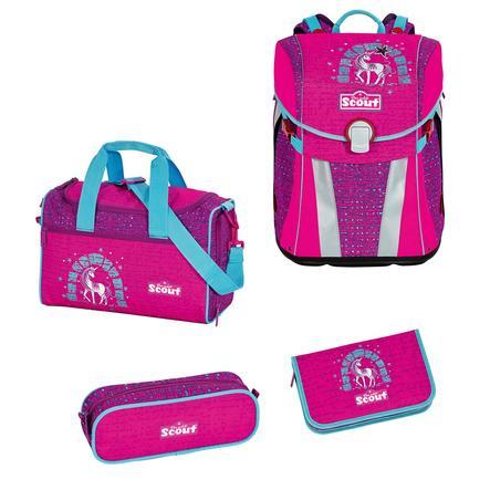 Scout Sunny Plecak z akcesoriami szkolnymi - Lilac Unicorn