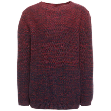 name it Boys Strickpullover brick red