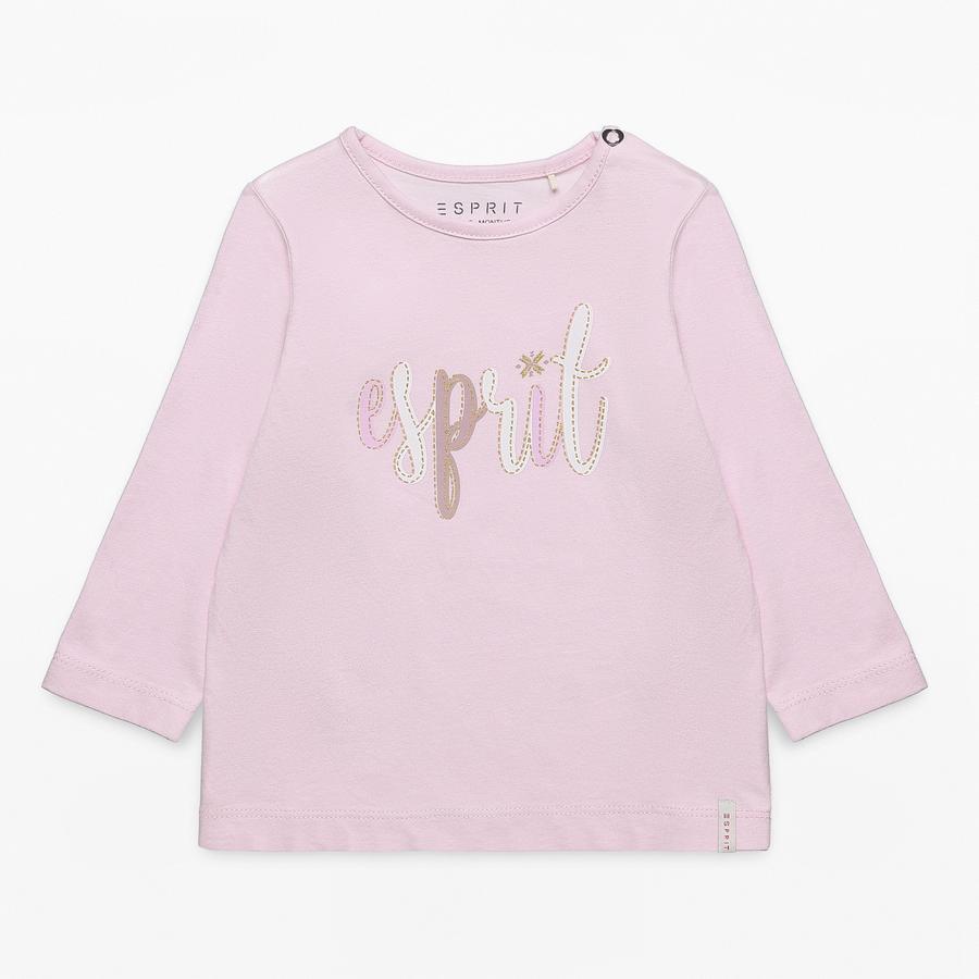 ESPRIT Girl s chemise à manches longues rose