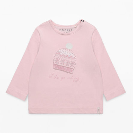 ESPRIT Girls Langarmshirt rose