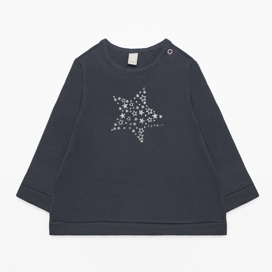 ESPRIT Girl s Sweatshirt antracytowy antracyt.