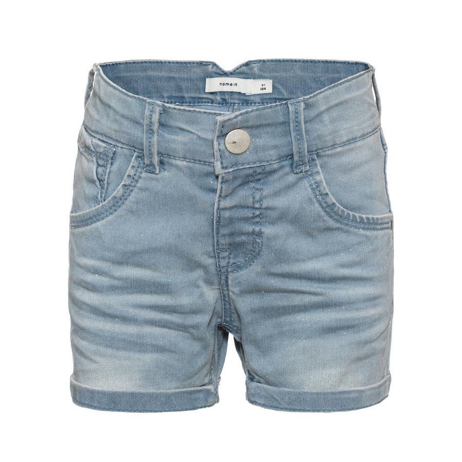 name it Girl s Jeans Shorts Jeans Badora denim bleu clair