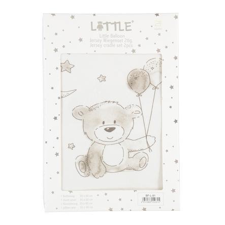"LITTLE Wiegenset ""Balloon"", 2tlg., 80 x 80 cm"