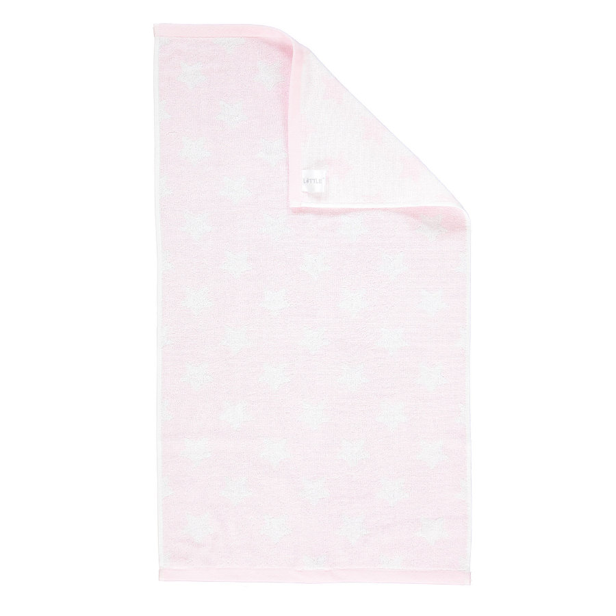 LITTLE Handtuch Frottier Sterne, rosa