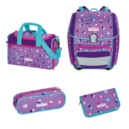 Scout Genius-Set 4tlg. - Candy Hearts