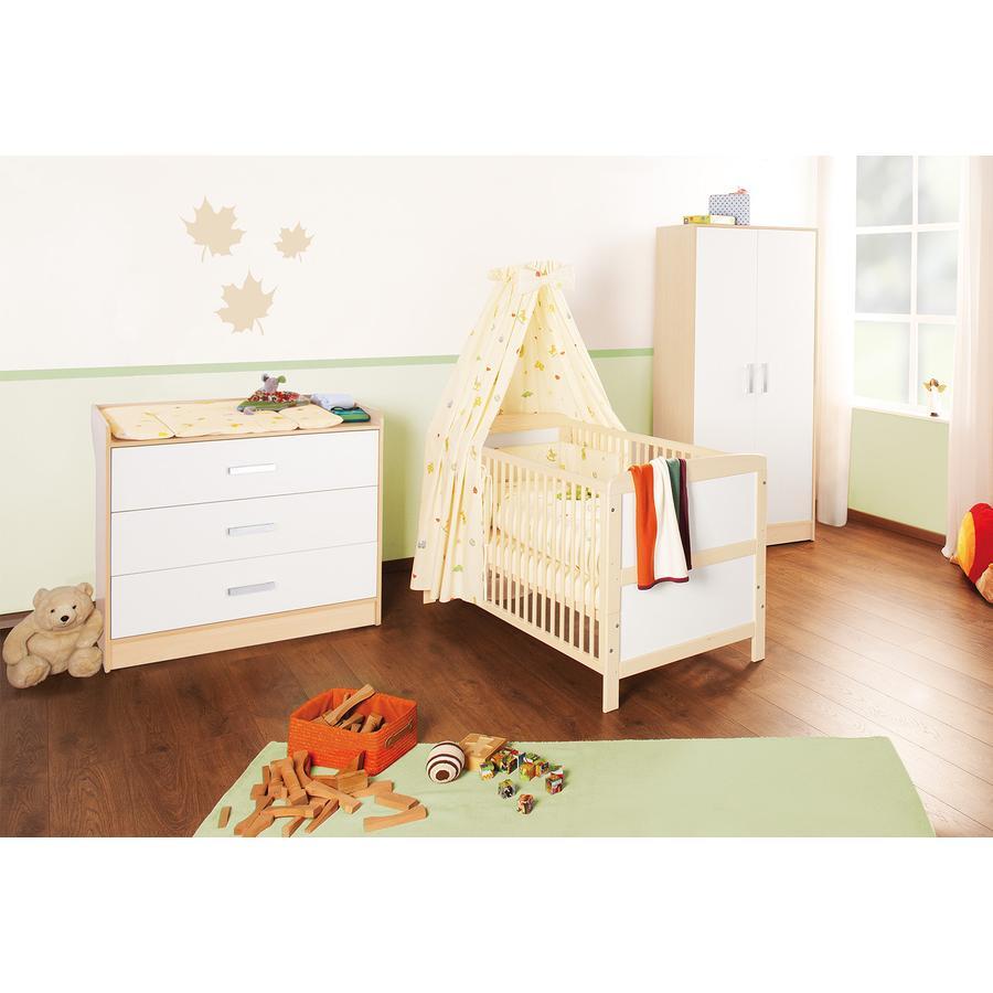 pinolino chambre enfant 3 pcs florian large. Black Bedroom Furniture Sets. Home Design Ideas