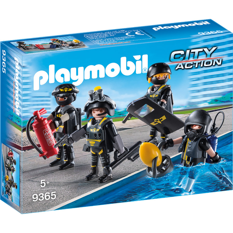 PLAYMOBIL® CITY ACTION SEK-Team 9365 -
