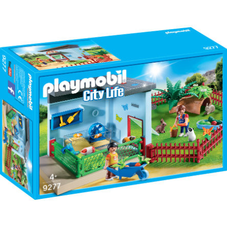 PLAYMOBIL® City Life Residenza di conigli e criceti 9277