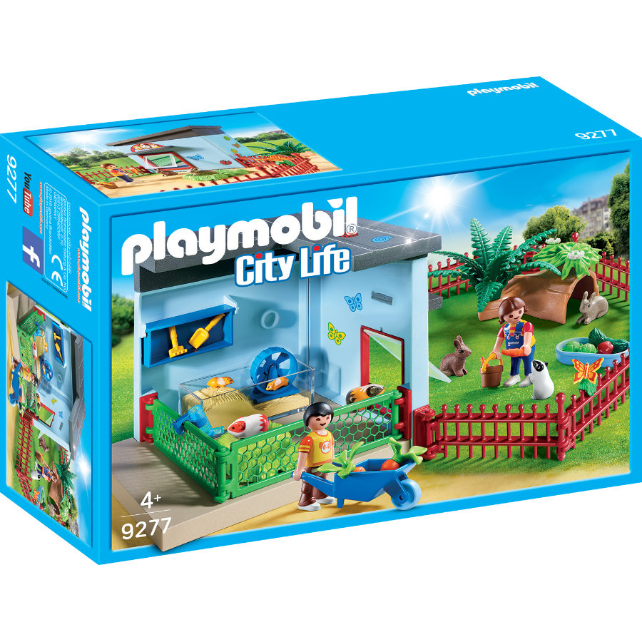 PLAYMOBIL® City Life Kleintierpensio 9277