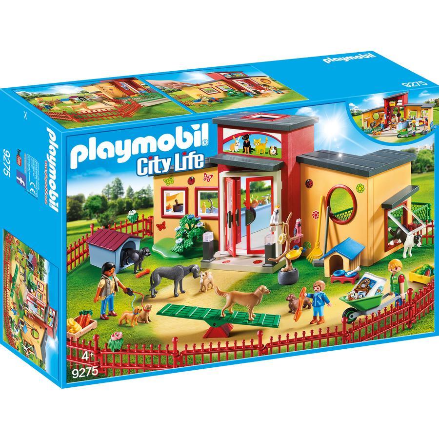 """PLAYMOBIL® City Life Hotel dla zwierząt """"Łapka""""  9275"""