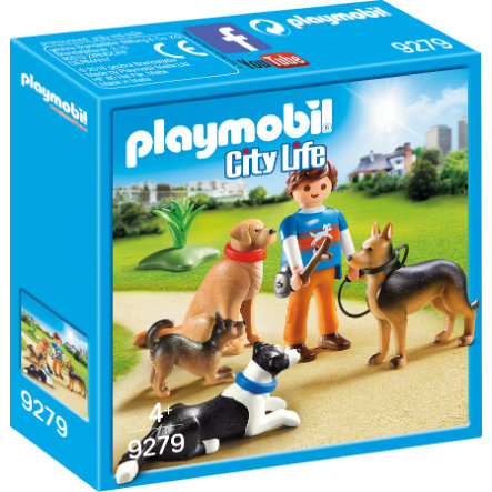 PLAYMOBIL® City Life Hundetrainer 9279
