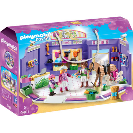 playmobil® City Life Ridsportbutik 9401