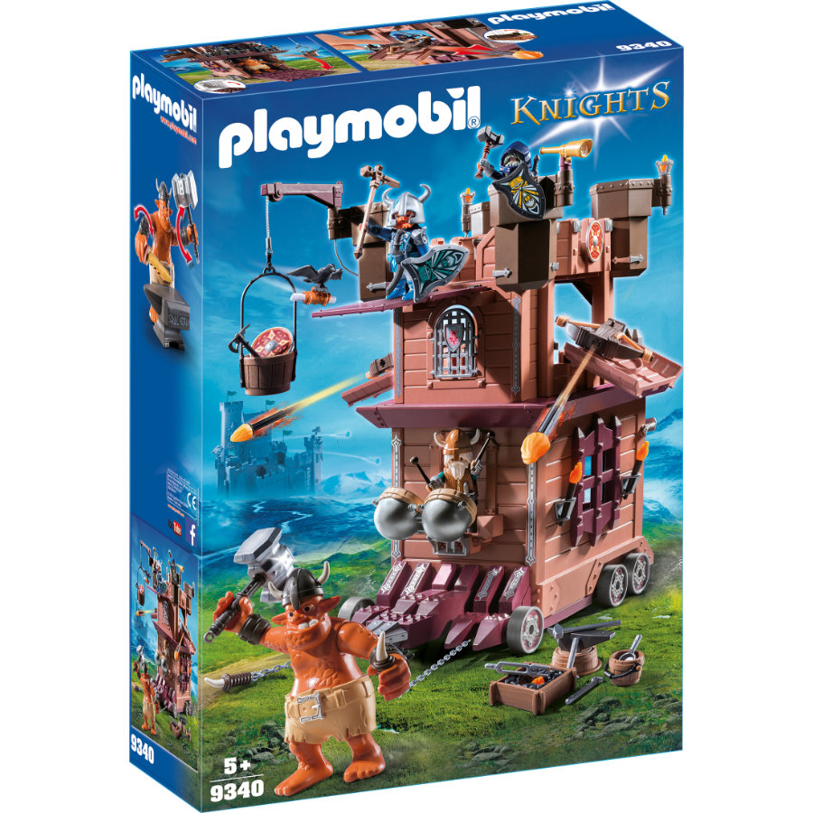 PLAYMOBIL® KNIGHTS Mobile Zwergenfestung 9340 -