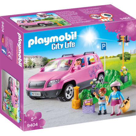 PLAYMOBIL® City Life Voiture familiale parking 9404