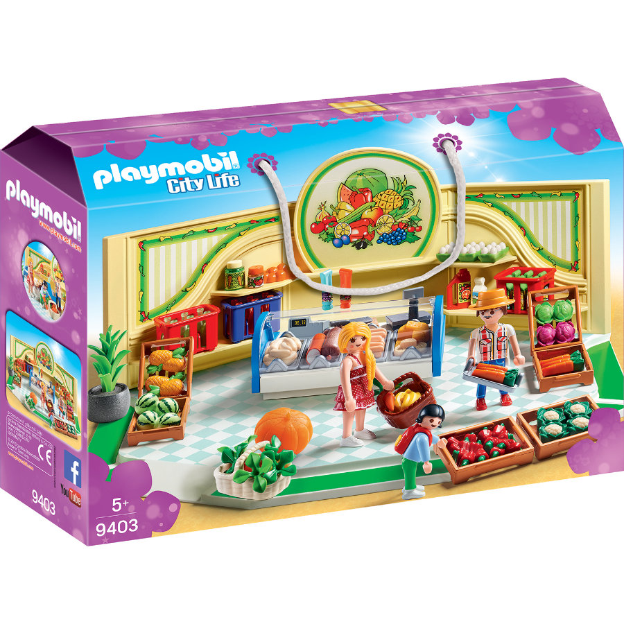 PLAYMOBIL® City Life Bioladen 9403