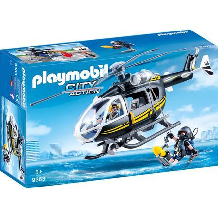 Playmobil 9363 Vrtulník speciální zásahové jednotky