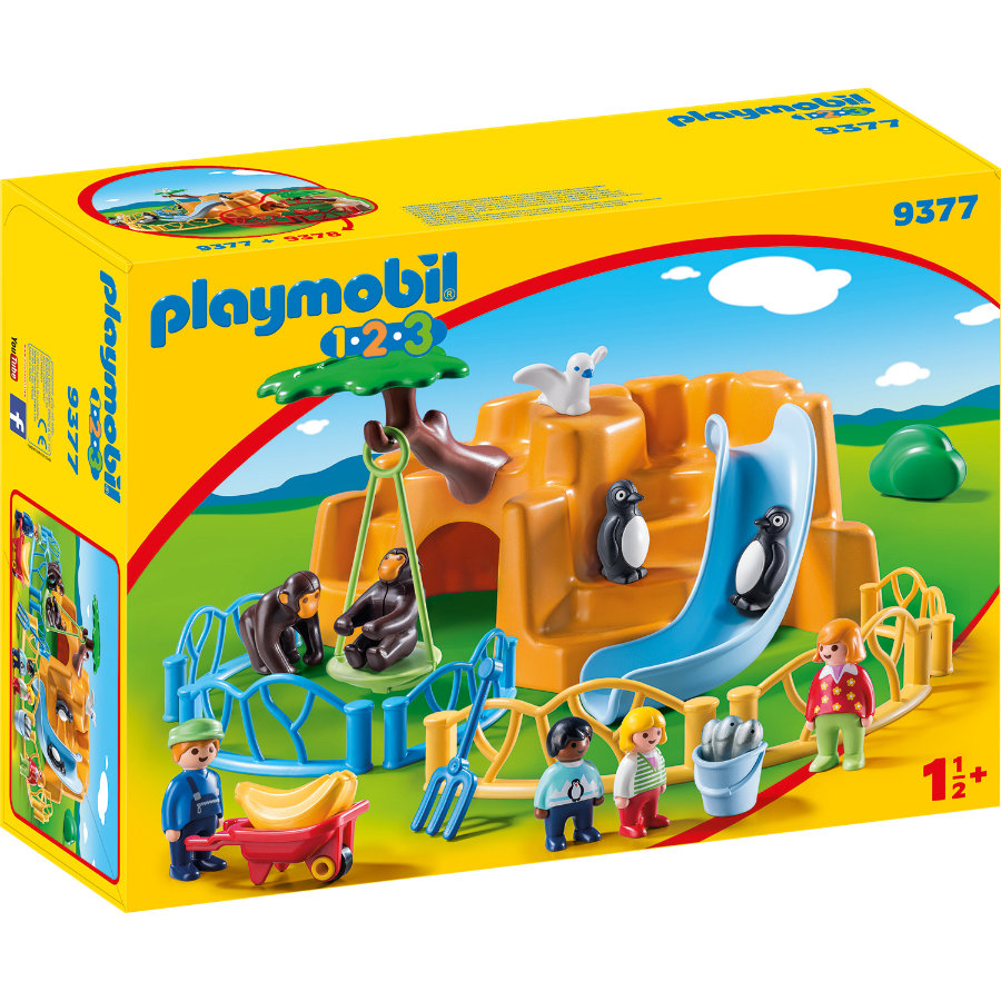 PLAYMOBIL® 1 2 3 Zoo 9377