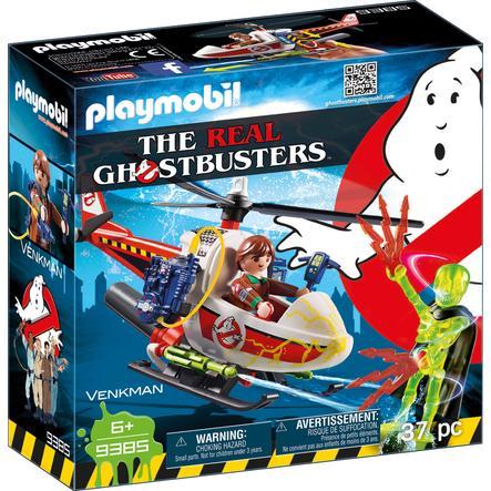 PLAYMOBIL® GHOSTBUSTERS™ Venkman avec hélicoptère 9385
