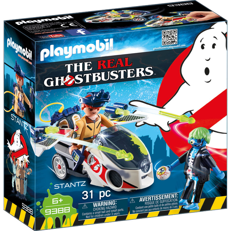 Playmobil 9388 The Real Ghostbusters Stantz a Skybike