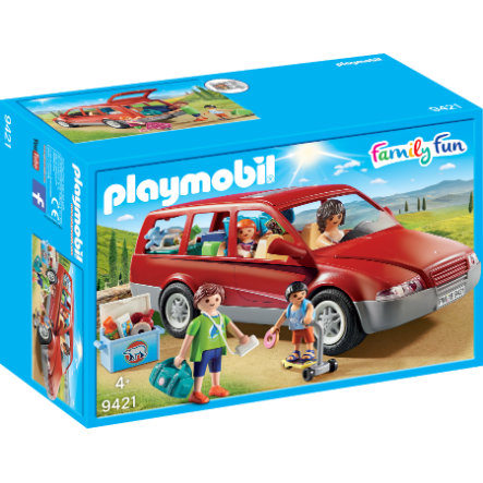 PLAYMOBIL® Family Fun Familien-PKW 9421