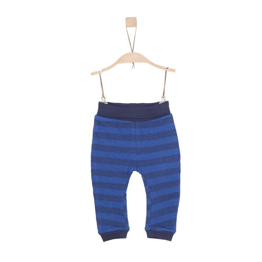 s.Oliver Boys Spodnie dresowe niebieskie paski