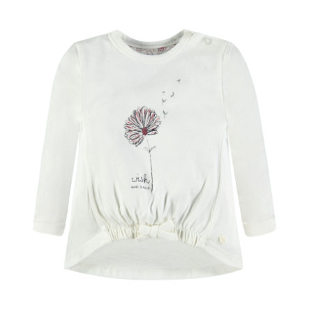 Marc O'Polo Girls Langærmet shirt snow white