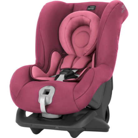 Britax Römer First Class plus Bilstol Wine Rose