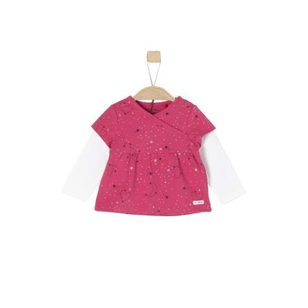 s.Oliver Girl s shirt met lange mouwen paars / roze