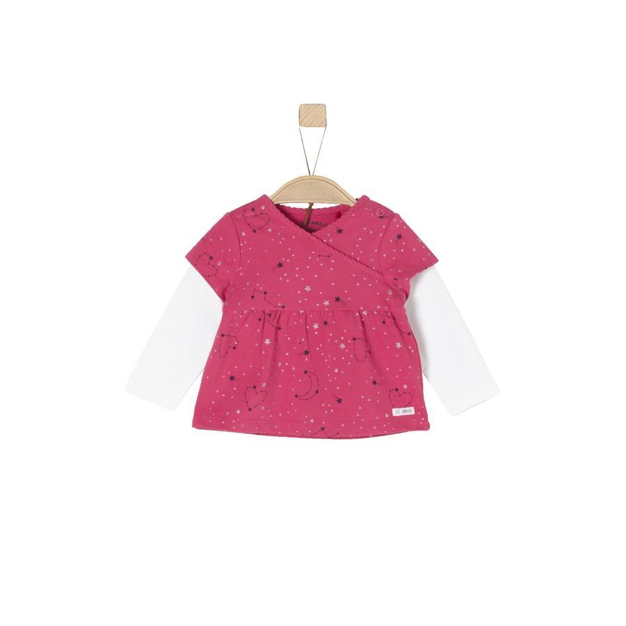 s.Oliver Girls Langarmshirt purple / pink
