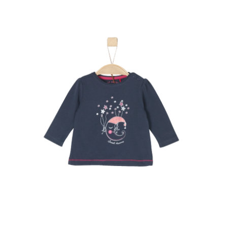 s.Oliver Girls Langarmshirt dark blue