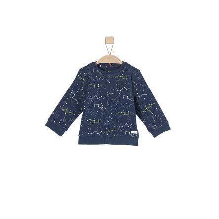 s. Olive r Girls Tepláková bunda modrá