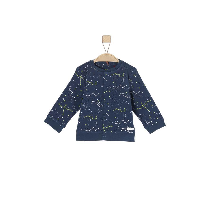 s.Oliver Girl S Bluza potowa niebieska.