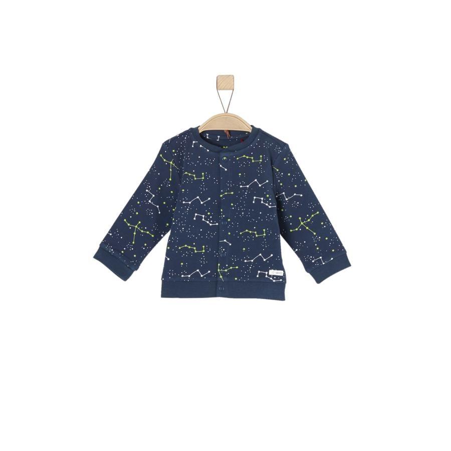 s.Oliver Girl s Sweat veste bleu