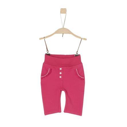 s.Oliver Girl s Pantalon de survêtement rose foncé
