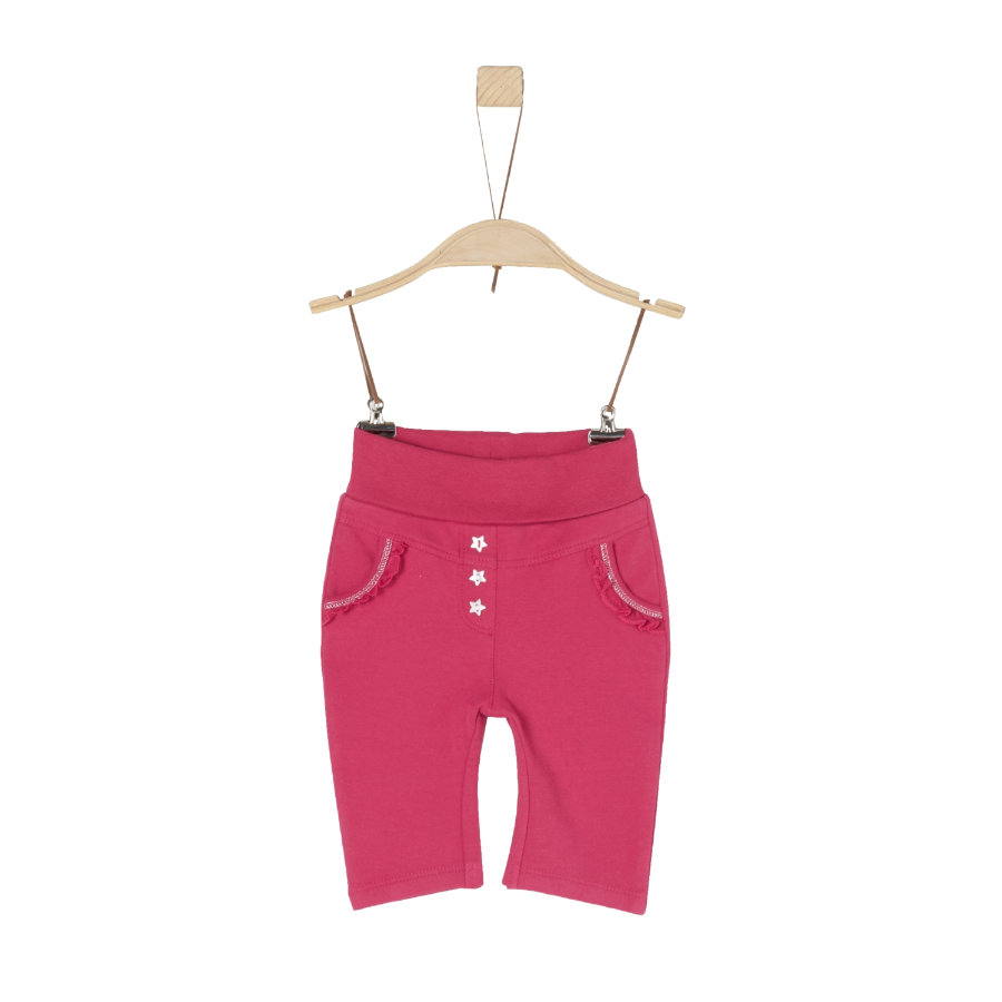 s.Oliver Girls Sweathose dark pink