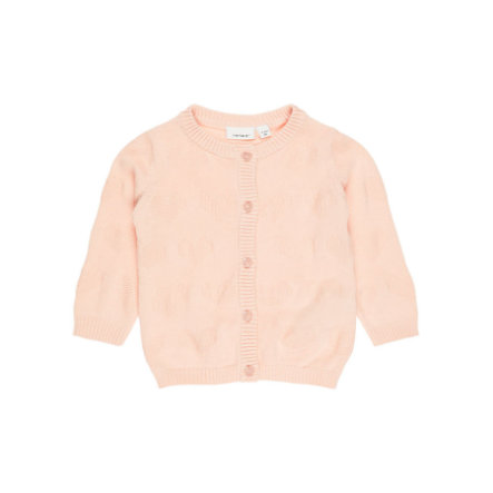 name it Girls Cardigan Nbfgiheart peachy keen