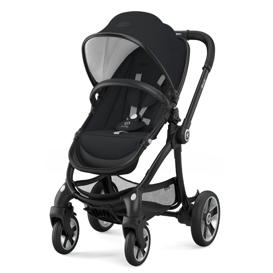 Kiddy Kinderwagen Evostar 1 Mystic Black