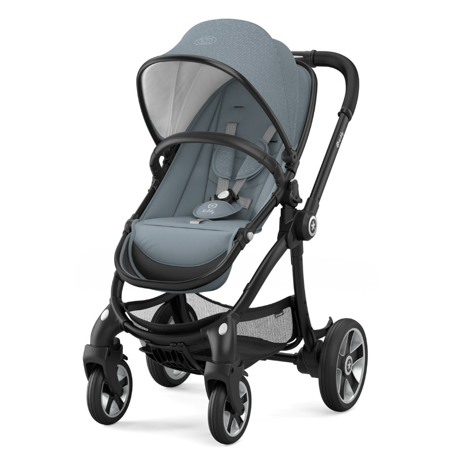 Kiddy Kinderwagen Evostar 1 Polar Grey