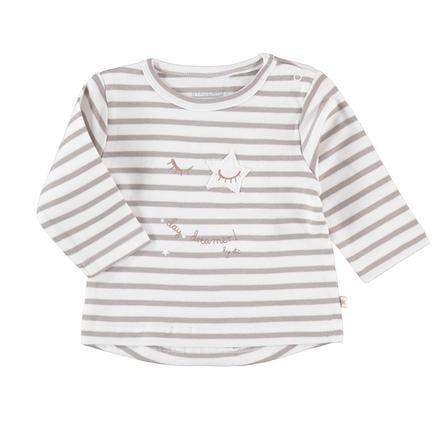 STACCATO Girl s camisa de manga larga rayas blanco roto