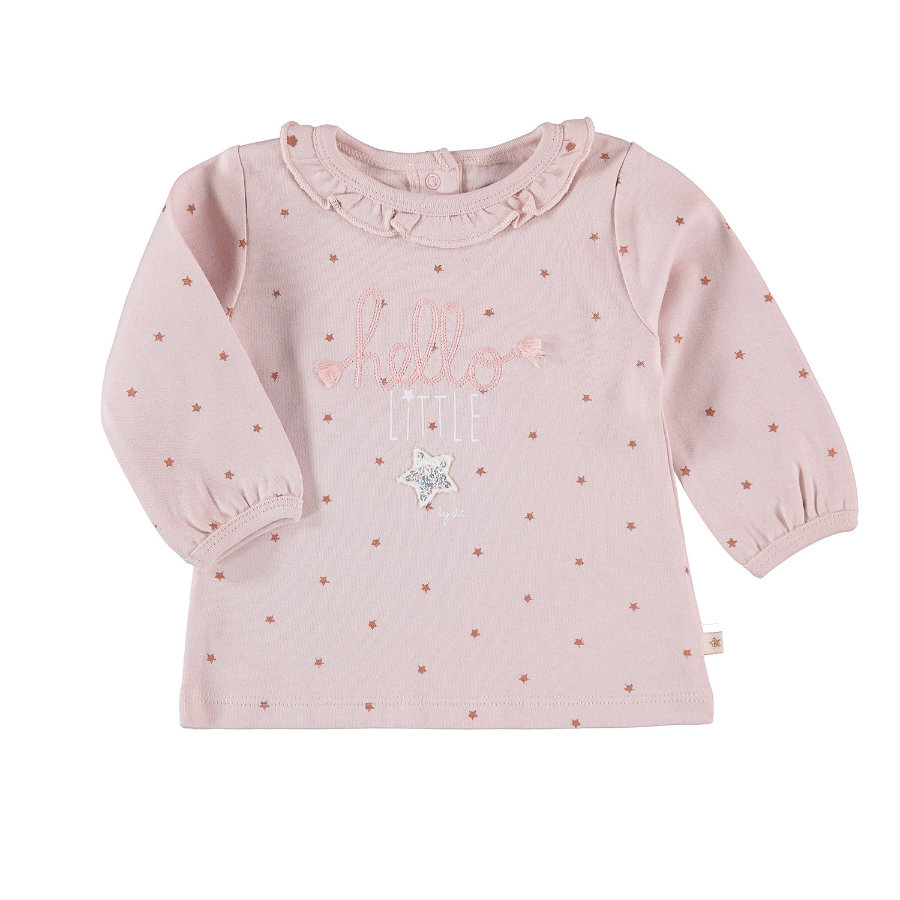 STACCATO Girls Langarmshirt d'powder stripes