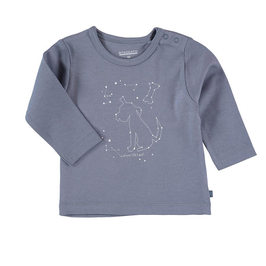 STACCATO Boys Shirt met lange mouwen d'blue melange
