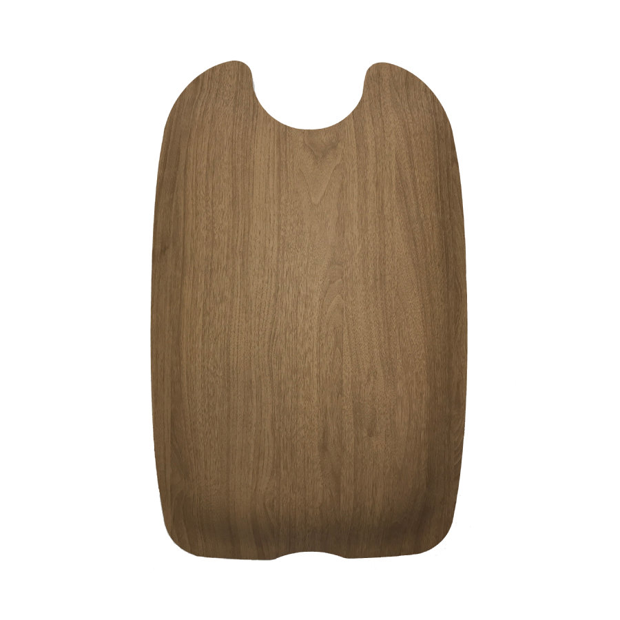 Kiddy Back Panel für Evostar Light 1 Walnut Brown