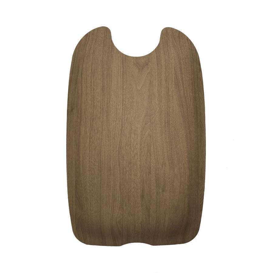 Kiddy Plaque dorsale pour poussette Evostar Light 1 walnut brown