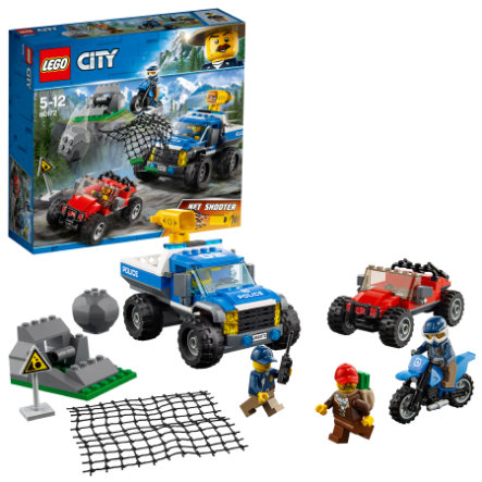LEGO® City - La course-poursuite en montagne 60172