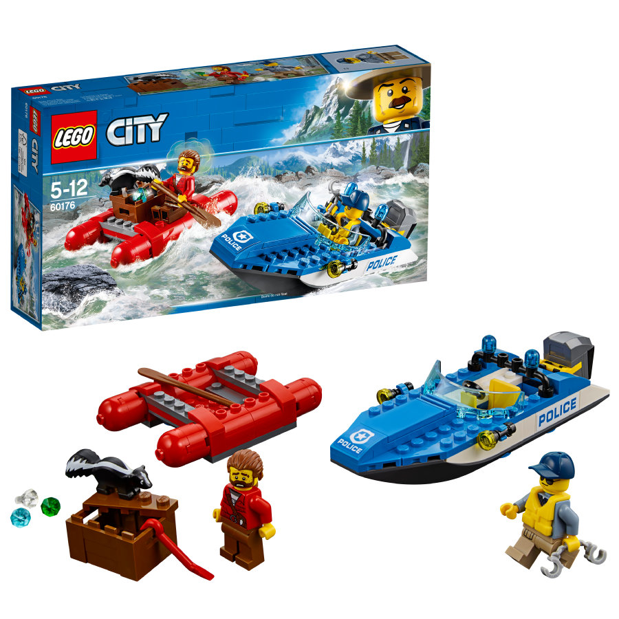 LEGO® City - L'arrestation en hors-bord 60176